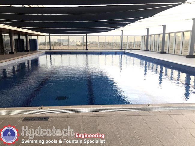 Hydrotech engineering company llc in abu dhabi for Swimming pool installation companies