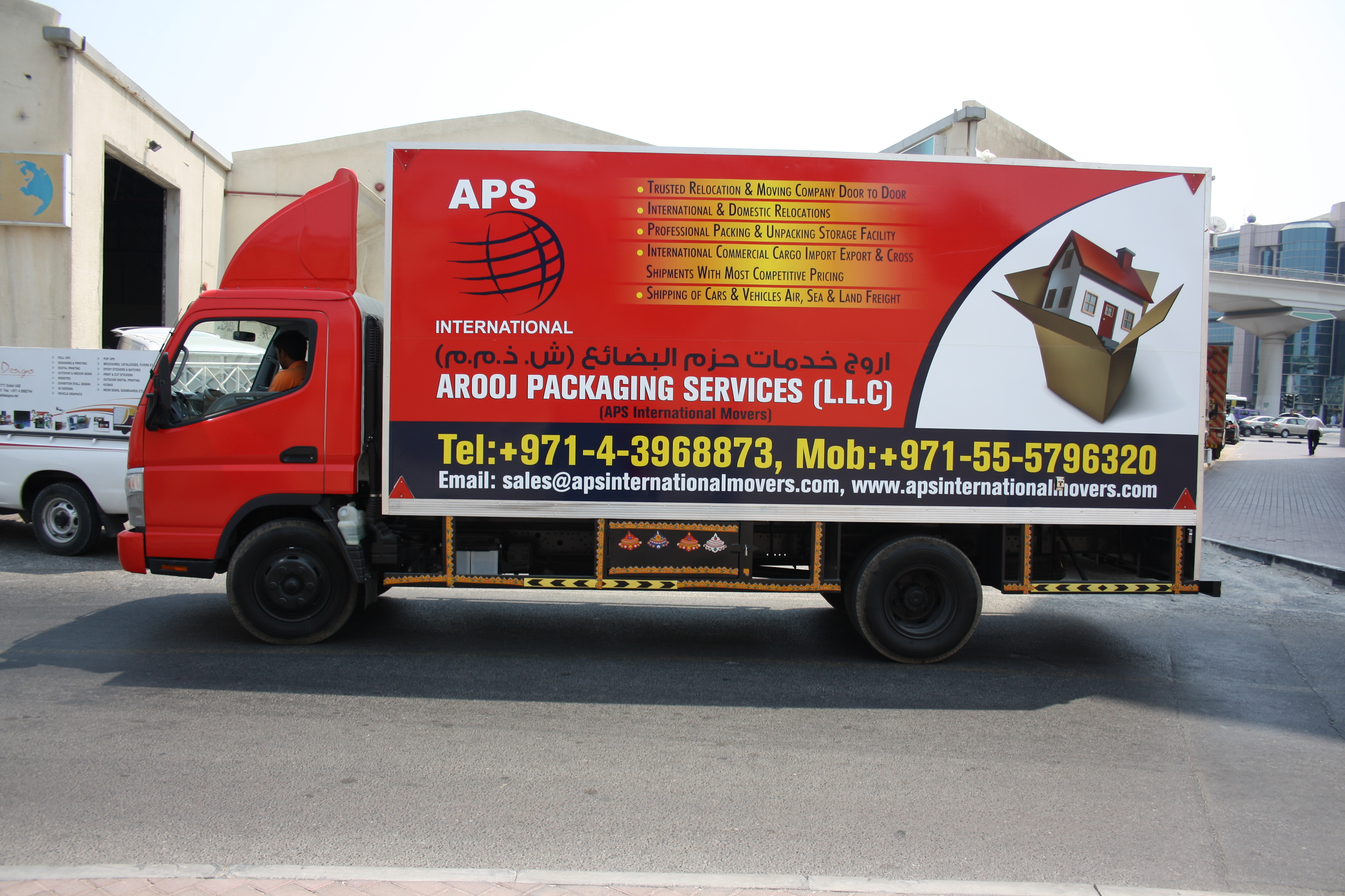 Aps International Movers Llc In Dubai