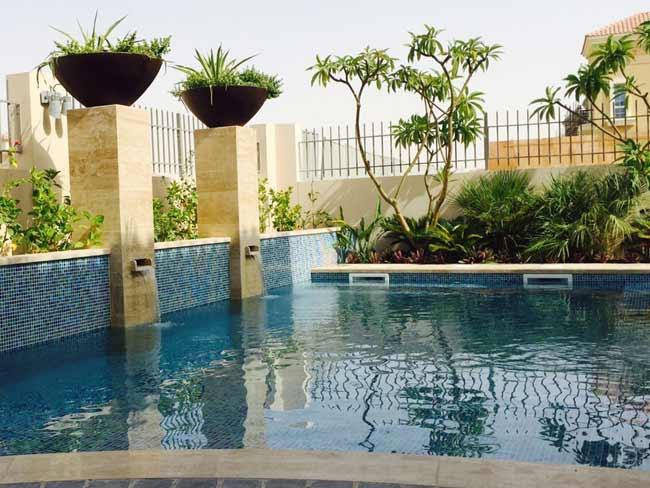 Desert link landscaping llc in dubai Swimming pool construction companies in uae