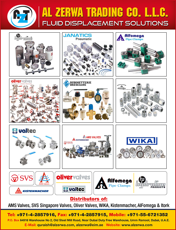 Valves in UAE | Industrial Valves Suppliers in UAE | Control