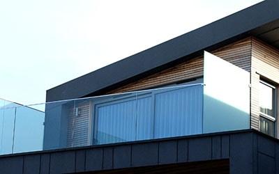 glass railing balustrade architecture  dubai