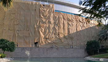 shade net for building construction in uae