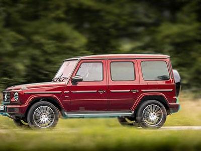 super car hire rental red mercedez benz g